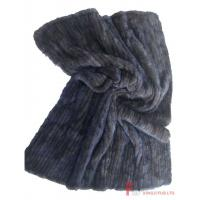 China Fur Blanket & Throw & Pillow Knitted Mink Fur Blanket wholesale