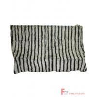 China Fur Blanket & Throw & Pillow Rex Rabbit Fur Blanket wholesale