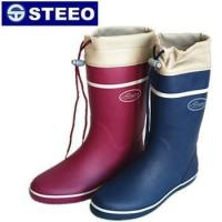 China Cold resistant colorful women rubber rain boots with cover wholesale