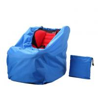 China Blue Ballistic Nylon Car Seat Travel Bag With Transparent Pocket For Personal Information wholesale