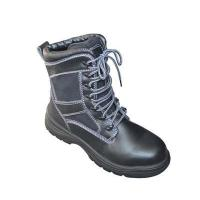 China Cow leather safety boots wholesale