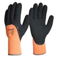 China Black Latex Foam Coated on 7G Liner,Cold Resistant Gloves wholesale