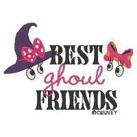 Design Categories DMHLW04 Best Goul Friends Minnie Mouse and Daisy