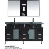 Buy cheap European Style Fashion Modern Wooden Solid Wood Bathroom Vanity Cabinet from wholesalers
