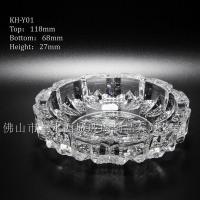 Glass ashtray(6) Product ID: KH-Y01