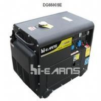 Buy cheap China / Hiearns / Air-cooled Diesel Engine / DG6500SE from wholesalers