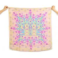 China Monogram Georgette Silk Scarf wholesale