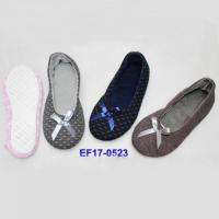 China Popular style Ballerina Flat Shoes (dancing shoes, Wholesale Ballet Slippers)EF17-0523 wholesale