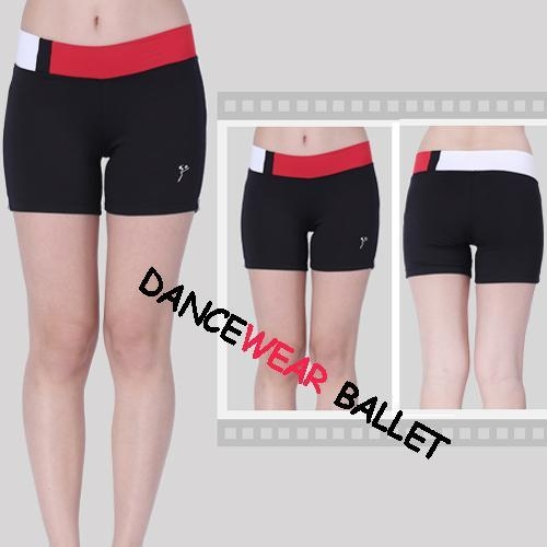 Quality Dance Slim Active & Fitness Contrast Color Shorts for sale