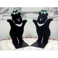 China Cultural and creative products Formosa Bleak Bear Bookend Book Shelf wholesale