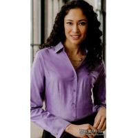China AB1006Ladies French Cuff Non-iron Pinpoint Oxford Shirts on sale