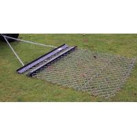 Chain link drag mat cost less but does better