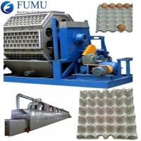 Buy cheap 8 Platens High Efficiency Paper Pulp Tray Machine from wholesalers