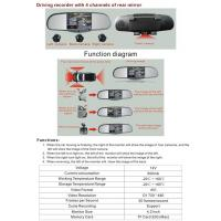 Buy cheap Car Driving Recorder Model No.:NDL-4.2R-4C from wholesalers