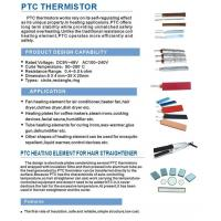 PTC Heating Element For Hair Straightener