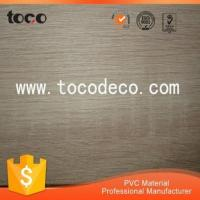 China waterproof and fireproof pvc decorative wood effect transfer film for sheet wholesale
