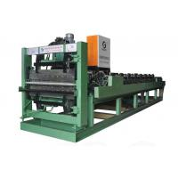 Buy cheap CNC colored sheet roll forming machine 900+840A double layer CNC colored sheet roll forming machine from wholesalers