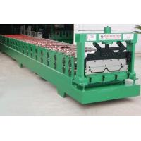 Buy cheap CNC colored sheet roll forming machine HGYX51-380-760 hidden roll forming machine from wholesalers