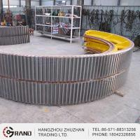 Buy cheap Split gear of rotary kiln for industrial plant and girth gear from wholesalers