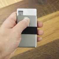 China The Thinnest Machine Slim Metal Wallet Card Holder Money Clip on sale