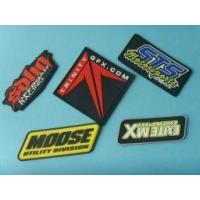 China OEM customized garment soft rubber badge wholesale