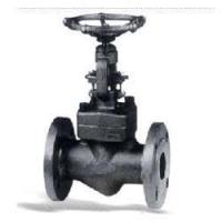 China Forged Steel Valve Flanged End Globe Valve150Lb~1500Lb wholesale