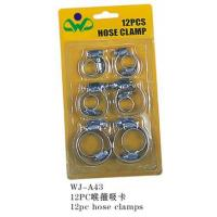 Quality Hose Clamps WJ-A4312pc hose clamps for sale