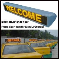 China Product:P6 LED Taxi Roof Sign on sale