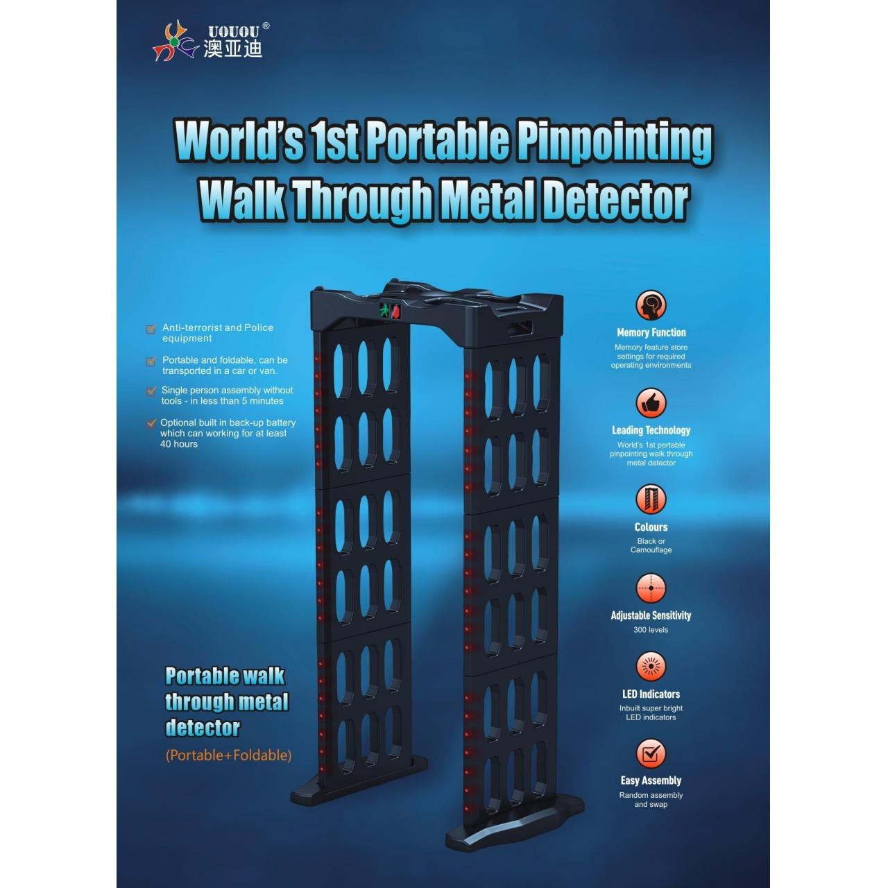 Buy cheap Walk Through Metal Detector from wholesalers