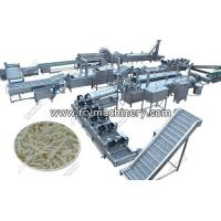 Buy cheap Automatic French Fry Manufacturing Processing Equipment from wholesalers