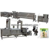 Buy cheap Semi Automatic French Fries Processing Machine Equipment from wholesalers