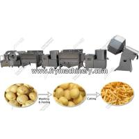 Buy cheap Small Scale Frozen French Fries Production Line from wholesalers