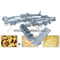 Buy cheap Commercial Fresh French Fry Manufacturing Plant Price - French Fries Machinex from wholesalers