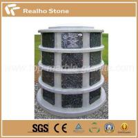 Shared Upright Granite Tombstone Custom Monuments for Cemetery