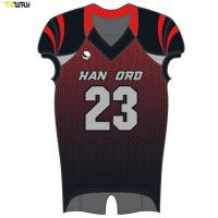 China Custom wholesale sublimated youth american football jersey wholesale