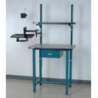 China Computer Carts & Stands Computer Desk W/ Monitor Arm & Drawer wholesale