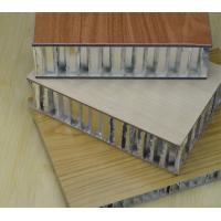 IMITATION WOOD GRAIN ALUMINUM HONEYCOMB PANEL