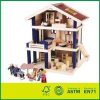 Buy cheap High Quality Wooden Uptown Dolls Cottage With Doll House from wholesalers