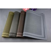 Buy cheap PVC Placemats from wholesalers