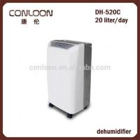 Refrigerative Dehumidifier Office Dehumidifier with ABS Housing and Water Tank