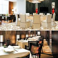 China Hotel Restaurant Dining Room Furniture with Hospitality Dining Table Chairs on sale