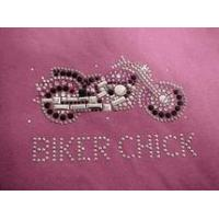 China Christine Alexander biker chick tank top pink motorcycle size medium wholesale