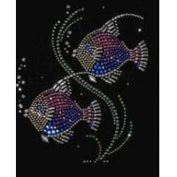 China Christine Alexander shirt fish wish black 3/4 vneck Small only wholesale