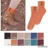China Simply Noelle crew boot or shoe socks only 6 colors left poly cotton wholesale