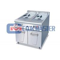 COOKMASTER 900 C9GFR2421 Gas Fryer with Cabinet (2-Tank & 2-Basket)