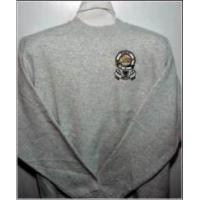 China Embroidered Mens Sweatshirts  Sweat Shirt with Coat of Arms wholesale
