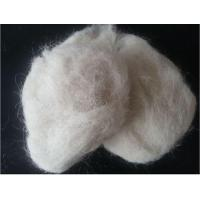 China White Clean Wool Waste on sale