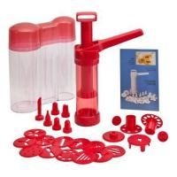 China baking Easy Action Cookie Press & Food Decorator in Storage Container wholesale
