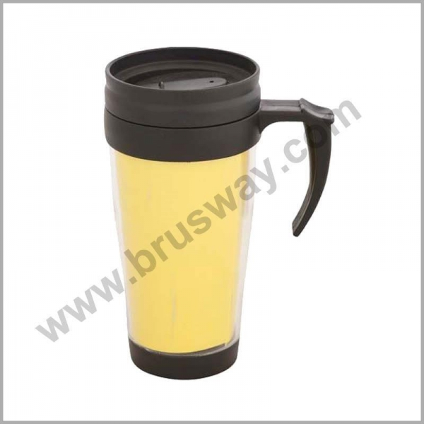 Quality Double wall cheap plastic insulated travel mug bottle BW-00115 for sale