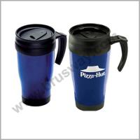 China Wholesale Double Wall Plastic Coffee Travel Thermos BW-00116 wholesale